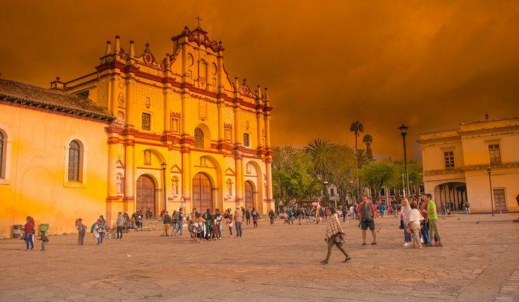 סן קריסטובל דה לאס קאסאס הכנסייה המרכזית
