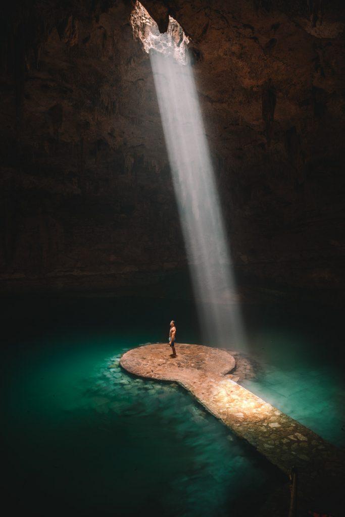 מערה ימית תת קרקעית בטולום מקסיקו