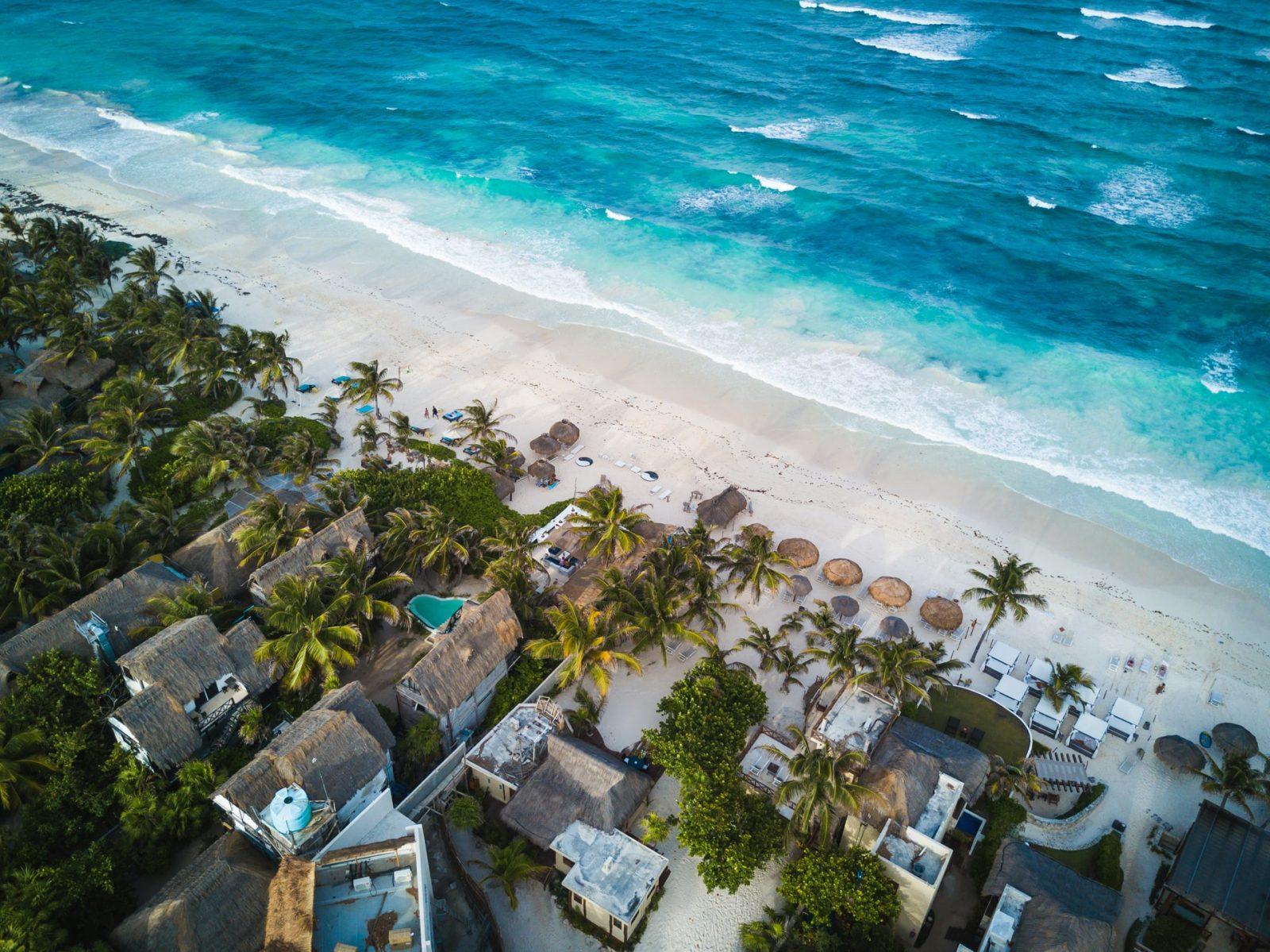 חוף הים טולום מקסיקו