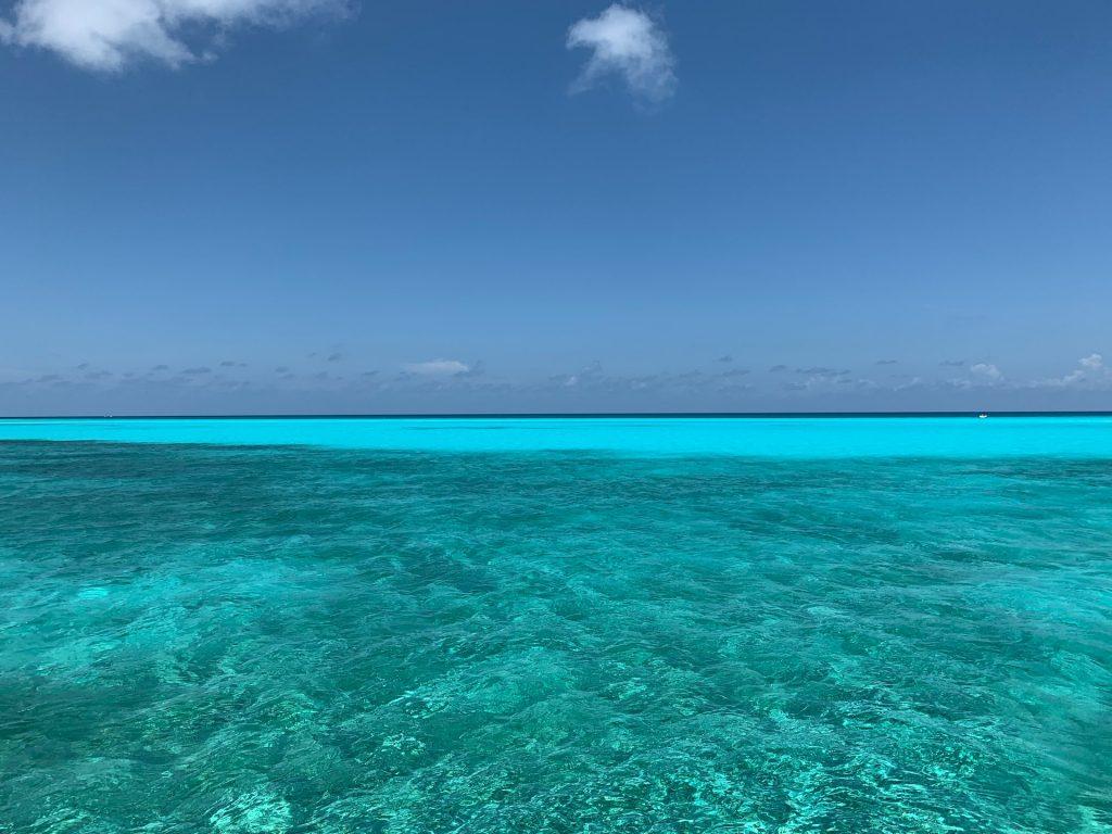מים צלולים בים של קנקון